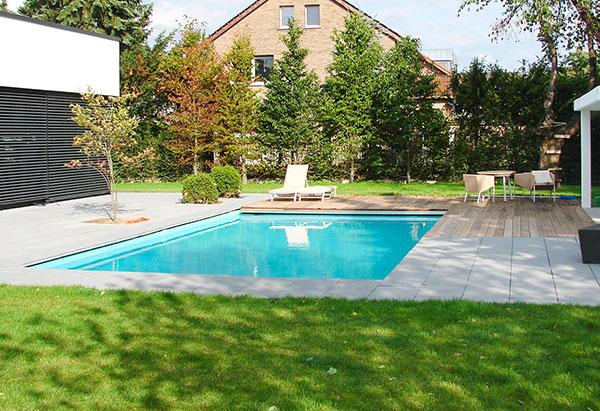 Poolbau und Poolanlage